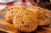 Delicious, soft cookie, combining the flavors of pumpkin and chocolate.
