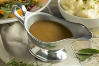 Delectable gravy to serve with our Sauerbraten-flavored meatloaf or with other meat dishes of your choice. Has a tangy taste. You'll love it!