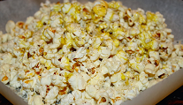 For a real treat, try this version of popcorn. You'll never want plain popcorn again. Thanks, Veronica Foods!