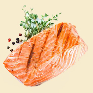 To jazz up salmon, which tends to be mild-flavored, try this herbed rub. The mustard gives it a nice bite and the herbs lend a lend a tasty flavor.