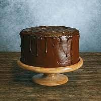 Old Fashioned Chocolate Cake adapted from cuisineathomecom