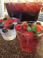 Refreshing and healthy, this shrub drink hits just the right note for a springtime dinner party. Surprise your friends with non-alcoholic fruity drink.