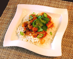 Spicy curry chicken thighs that everyone will be talking about. These are so delicious and pretty, everyone will want your recipe.