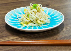 Bean sprouts by themselves don't have much taste, but prepared and seasoned the Korean way, they make a delightful salad or side dish with grilled meats.
